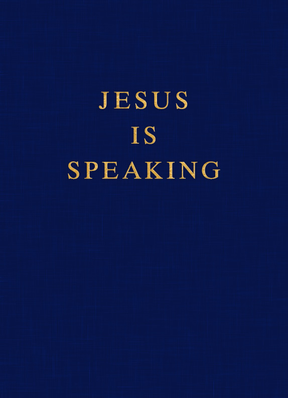 Jesus Is Speaking