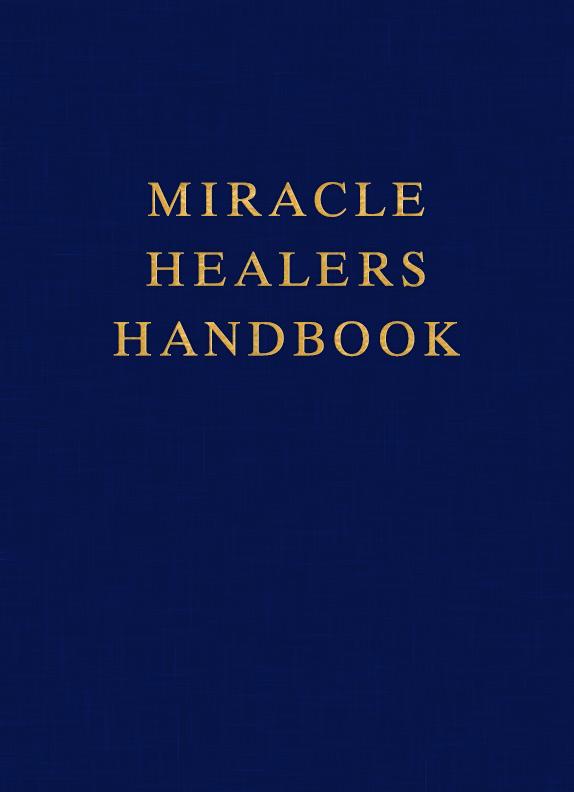 Miracle Healers Handbook