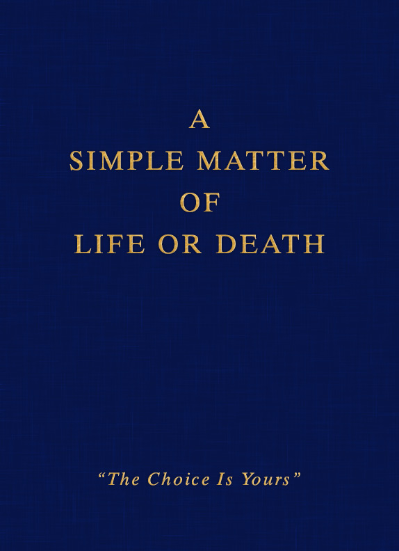 A Simple Matter Of Life Or Death