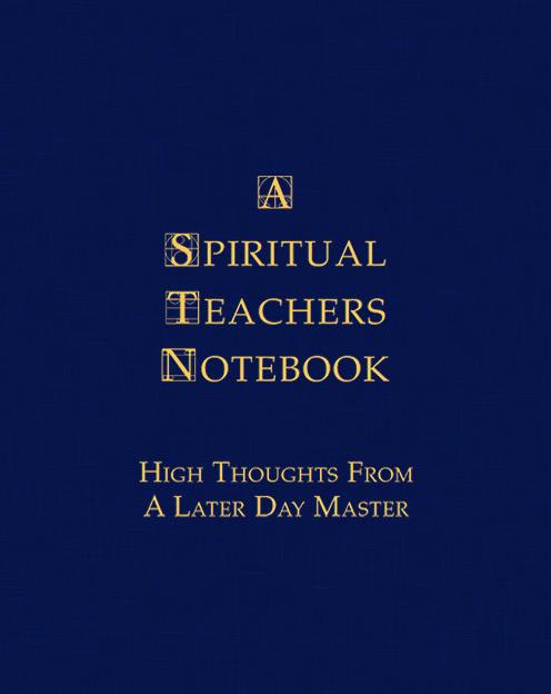 A Spiritual Teachers Notebook